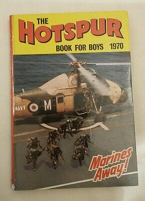 The Hotspur book for boys 1970