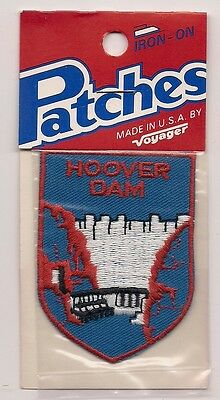 Hoover Dam, Nevada  Souvenir Patch - Voyager