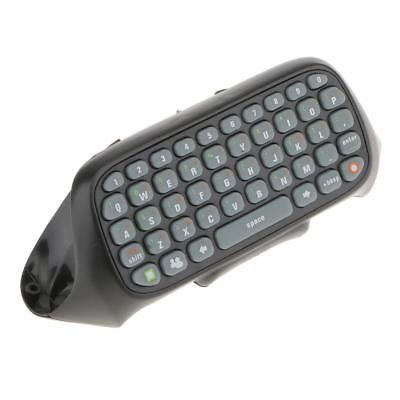 Wireless Keyboard Live Text Message Chat Pad Keypad for Xbox 360 Controller