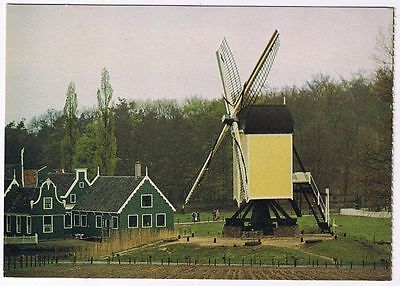 Holland Netherlands Postcard Openluchtmuseum Arnhem Post Mill Corn Mill