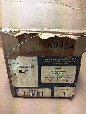 General Electric GE Ground Break Relay TGMR1 New