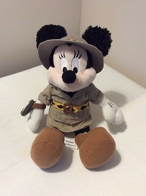 Mickey Mouse Disney Soft Toy Push 12 Inch Safari Explorer