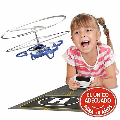 My First Drone Station Remote Control Helicopter with Lights and Sound Silverlit