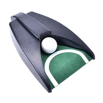 Golf Ball Kick Back Automatic Return Putting Cup Device Training Aid FO