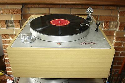Rek-O-Kut Rondine Turntable plinth NO TONEARM