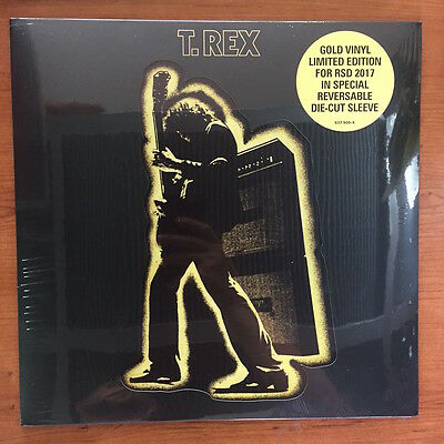 "T. Rex ‎– Electric Warrior 12"" LP Vinile Gold limited ed. RSD 2017"