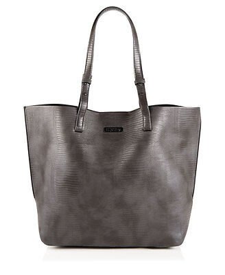 Neue Superdry Olivia Tragetasche Charcoal