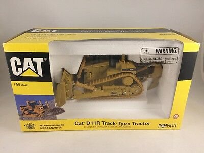 Norscot CAT D11R Track Type Tractor 1:50 Scale  Die Cast