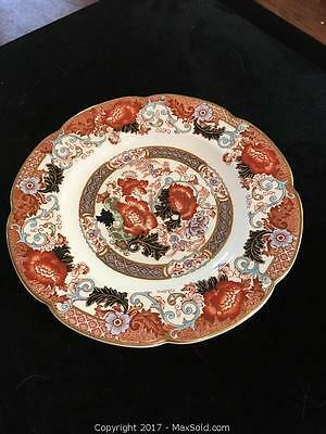 Antique Wood and Son Verona Plate, Royal Semi-Porcelain Plate cc1900