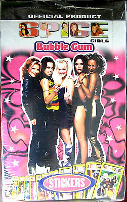 Selling a NEW UNOPENED Box (200 Count) Spice Girls Bubble Gum and Stickers