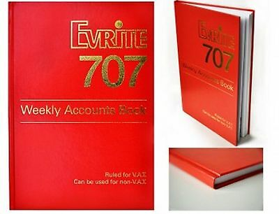 Evrite 707 Weekly Accounts Book NEW