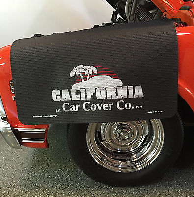 California Car Cover Logo Fender Gripper Black Protective Fender Cover: FG2523