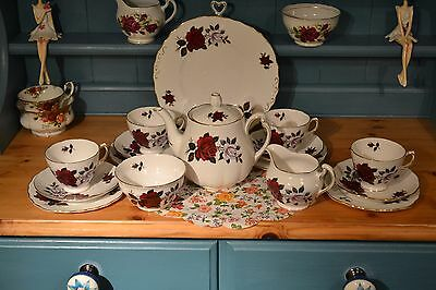 colclough 1960's bone china tea set.