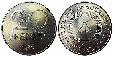 1511 20 Pfennig DDR 1986 A in STG  474055