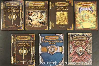WOTC D&D 3rd Ed Dungeons & Dragons 3.0 Starter Collection - 6 Assorted T Box VG