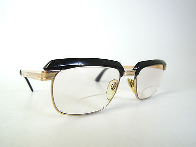 Vintage Rodenstock Richard Glasses Frame Pilot Aviator Eyeglasses 12K Gold Retro