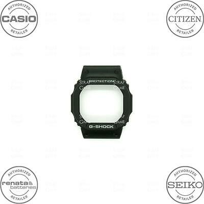 CASIO 10186006 Resin Bezel for G-SHOCK DW56RT-1V DW56RTWC-1V GW5600J-1, Black