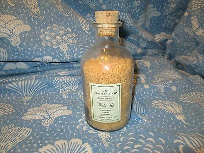 Aromafloria Herbal Therapy Wake Up Ocean Mineral Bath Salts ~85% Full Free S/H