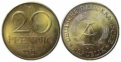 1511 20 Pfennig DDR 1983 A in STG  1502156