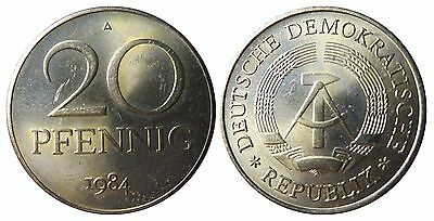 1511 20 Pfennig DDR 1984 A in STG  1502159