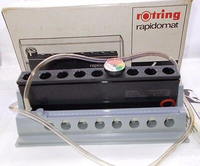 Vintage Rotring Rapidomat ink cartridge machine for calligraphy drawing pen