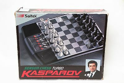 Saitek Kasparov Sensor Chess Turbo Electronic Set