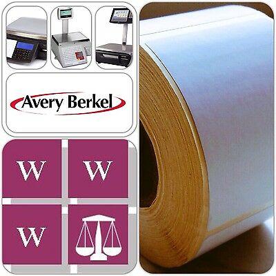 Avery Berkel Thermal Scale Labels - 58 x 76mm,12 Rolls, 6,000 Labels