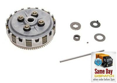New Complete Clutch Basket Plates Kit Assembly For Yamaha Dt Tzr 50 Am6