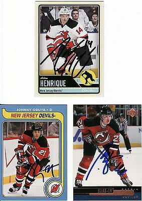 Patrik Elias, New Jersey Devils, Rare Auto'd/signed Nhl Card.