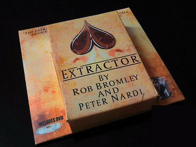 Extractor (DVD and Gimmicks) by Rob Bromley and Peter Nardi Magic Trick Close Up