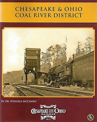 Chesapeake & Ohio COAL RIVER DISTRICT (main line, southern West Virginia) NEW