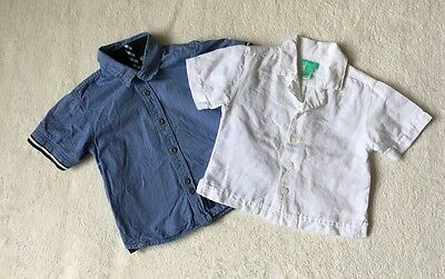***Timberland/ Monsoon baby boys Shirts x 2 12-18 months EXCELLENT!***