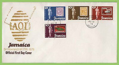 Jamaica 1979 Rowland Hill set on First Day Cover