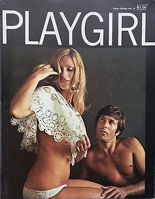 Vintage Playgirl No. 8 Men's Magazine Nude Pin Up Girls