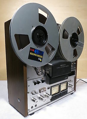 SONY TC-755 Reel To Reel Tape Deck-Serviced & Working Well