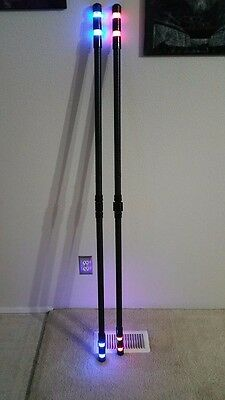 NEW CUSTOM MADE Nightwing LED Inspired Bo Staff