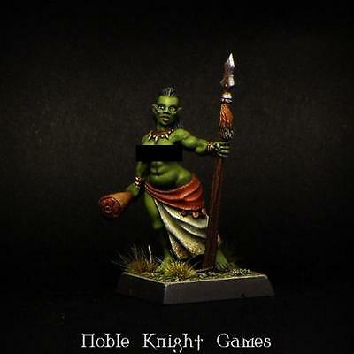Brother Vinni Fantasy Mini 28mm Female Orc Pack MINT