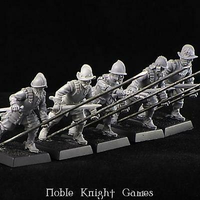 Brother Vinni Renaissance Mini 28mm Spanish Pikemen Pack MINT