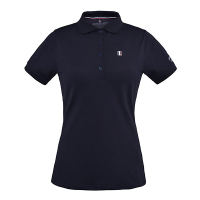 Kingsland Classic Ladies Polo Pique Shirt - Navy Blue