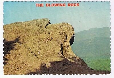North Carolina Postcard Blowing Rock St John's River Gorge Grandfather Mountain