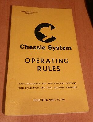 1969 Chessie System Operating Rules