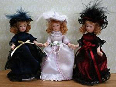 Dolls House Miniature Victorian China Doll