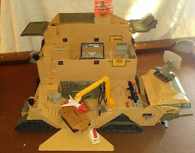 Vintage 1987 Hasbro GI Joe Mobile Command Center 99% Complete
