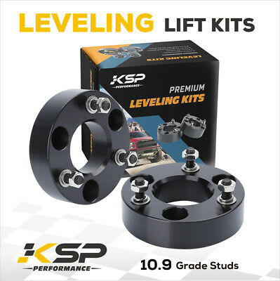 """2.5"""" Front Leveling Spacer Lift Kit 2006-2020 Dodge RAM 1500 4WD CNC Machined"""