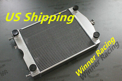 "Radiator 2x1"" up to 700HP Ford 2N/8N/9N tractor w/flathead V8 engine 2 Row 56mm"