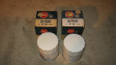 1968 69 70 71 72 Cutlass 442 Gmc Truck Cadillac Ac Pf-30 White Oil Filter Oem