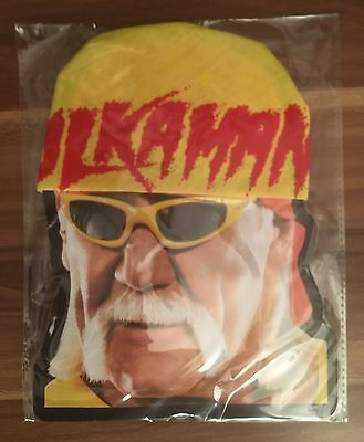 Hulk Hogan Yellow Hulkamania Bandana New Fancy Dress WWE WWF