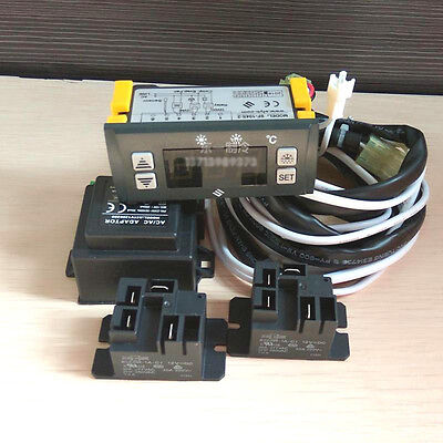 Shangfang Sf-104S-2 Digital Refrigeration Controller 12Vdc Ntc -45 To +45°C