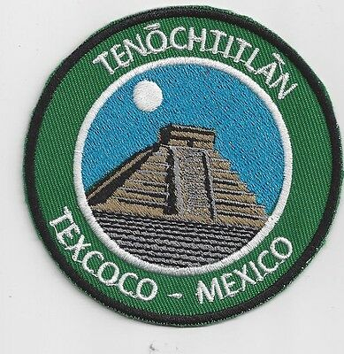 Tenochtitlan, Texcoco Mexico Souvenir Patch