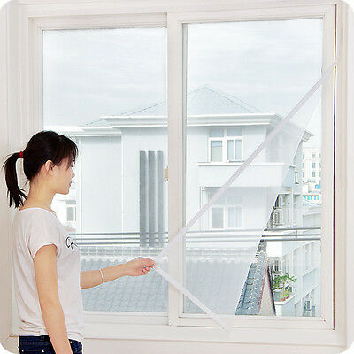 Window Anti Mosquito Curtain Network Screen Net Mesh Invisible Clean Convenience